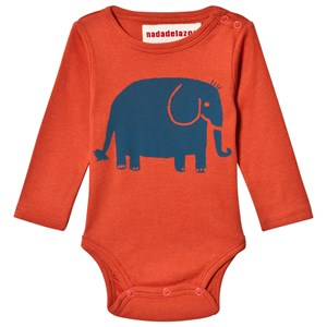 Image of nadadelazos Elephant Touba Baby Body Bus Red 6 mdr (3065583531)