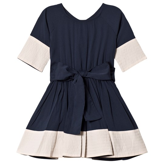 How To Kiss A Frog Siona Dress Navy Navy