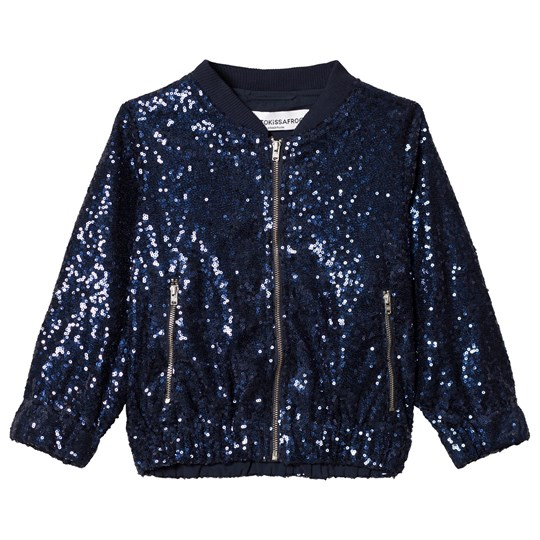 How To Kiss A Frog Sparkle Jacket Navy Navy