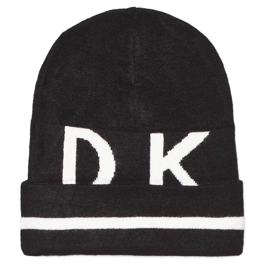 DKNY Black Logo Hat 09B