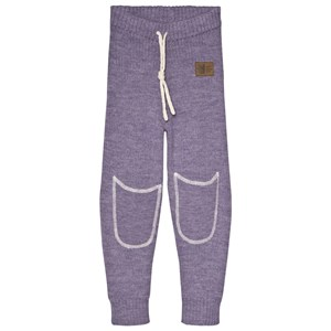 Image of Kattnakken Wool Mid Layer Pants Purple 116 cm (5-6 år) (3065572573)
