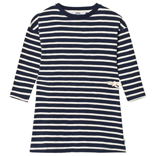 ebbe Kids Maddy Dress Dark Navy/Pale Sand Dark Navy/Pale Sand