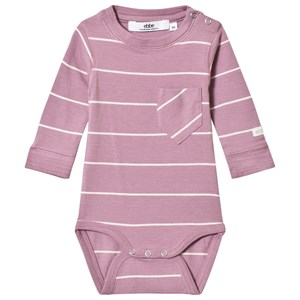 Image of ebbe Kids Affy Baby Body Dusky Orchid/Off White 56 cm (1-2 mdr) (3065559603)