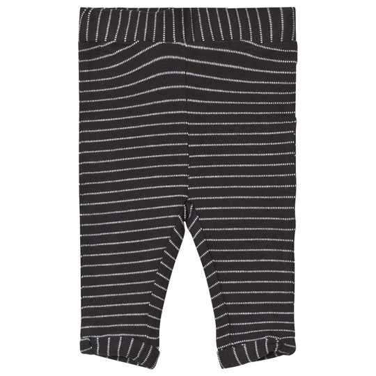 Noa Noa Miniature Black Stripy Leggings Black