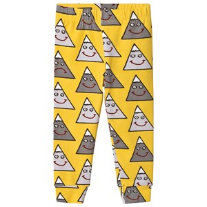 Image of Boys & Girls Happy Mountain Leggings Yellow 1-2 years (3065517469)