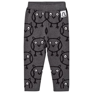 Image of Boys & Girls Night Owl Knit Leggings Grey 6-12 months (3065517657)