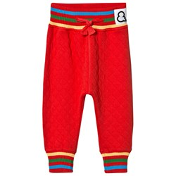 Boys & Girls Quilted Pants Red