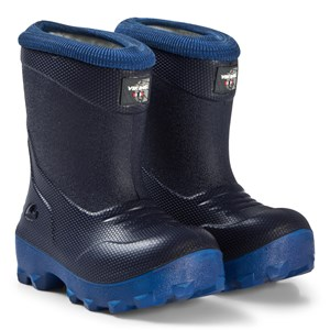 Viking Frost Fighter Boots Navy and Blue 21 EU