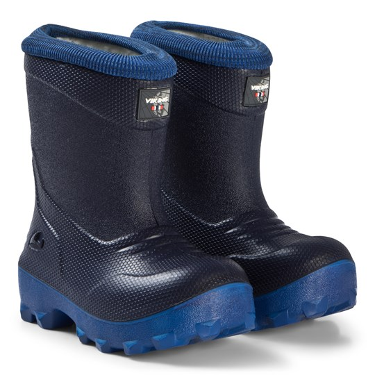 Viking Frost Fighter Boots Navy and Blue Navy/Blue