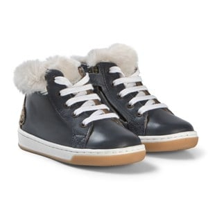 Image of Shoo Pom Navy Yeti Dude Sneakers 24 EU (3065579181)