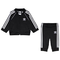adidas Originals Black Superstar Infants Tracksuit