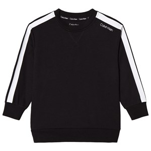 Image of Calvin Klein Black Branded Sweatshirt 10-12 years (3065535535)