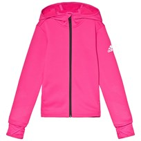 adidas Performance Pink Training Full Zip Hoodie real magenta 8ad47aff1c