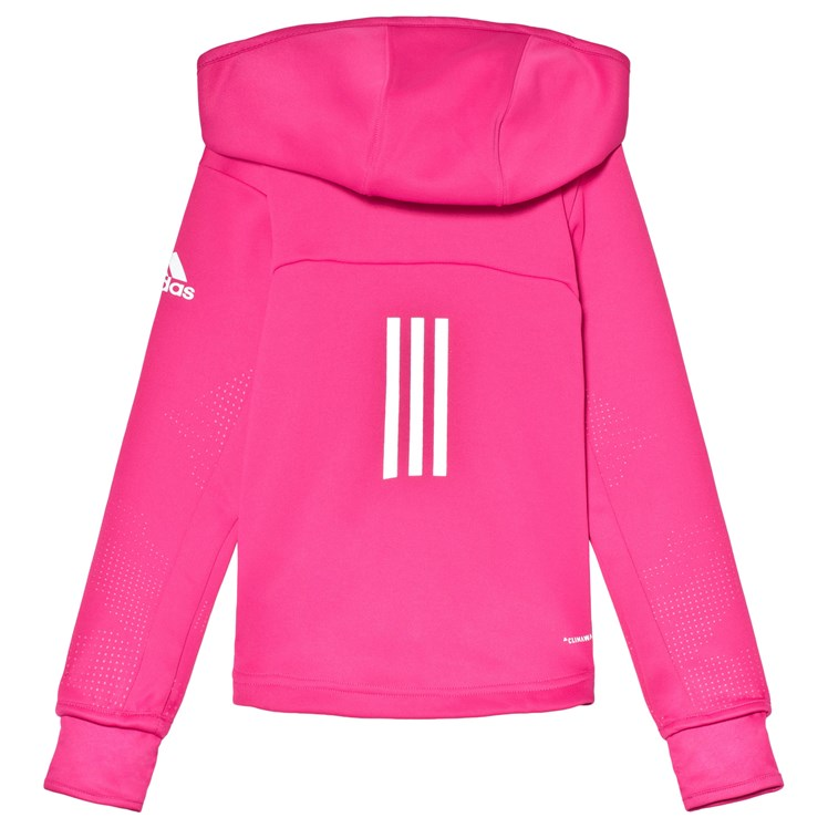 adidas Performance Pink Training Full Zip Hoodie Babyshop.no