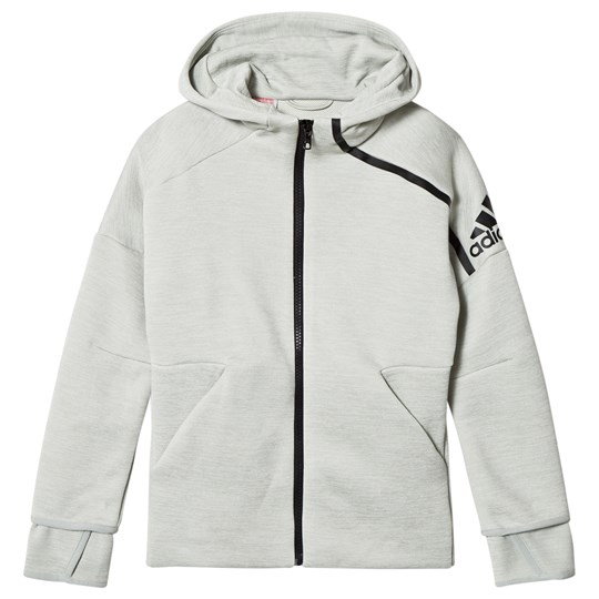 adidas Performance Grey Zone 3.0 Hoodie zne htr/ash silver/black