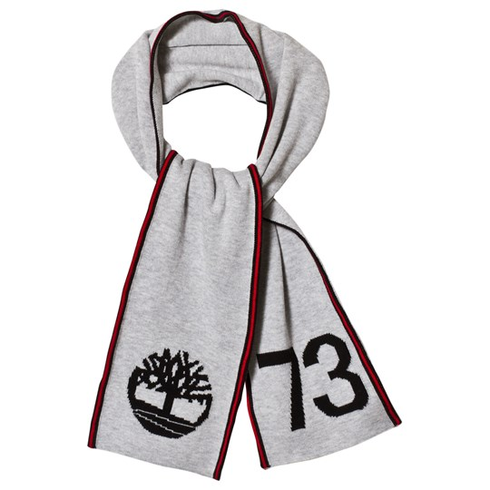 Timberland Grey Tree and 73 Branded Scarf A32
