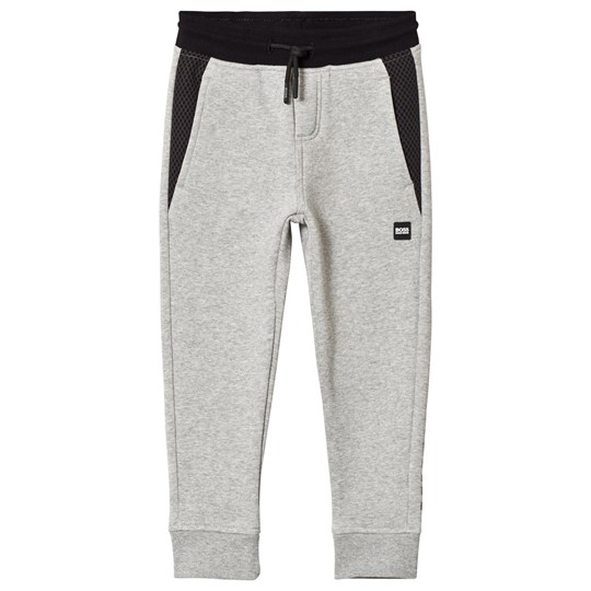 BOSS Grey Marl Mesh Sweatpants A33