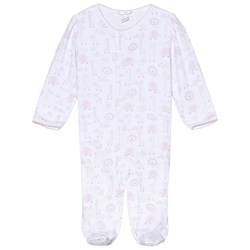 Kissy Kissy Jungle Print Sparkdräkt Vit/Rosa