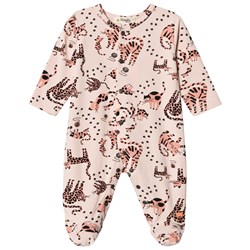 The Bonnie Mob Kitty Footed Baby Body Pink Cat