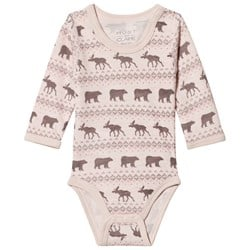 Hust&Claire Pink Baloo Baby Body