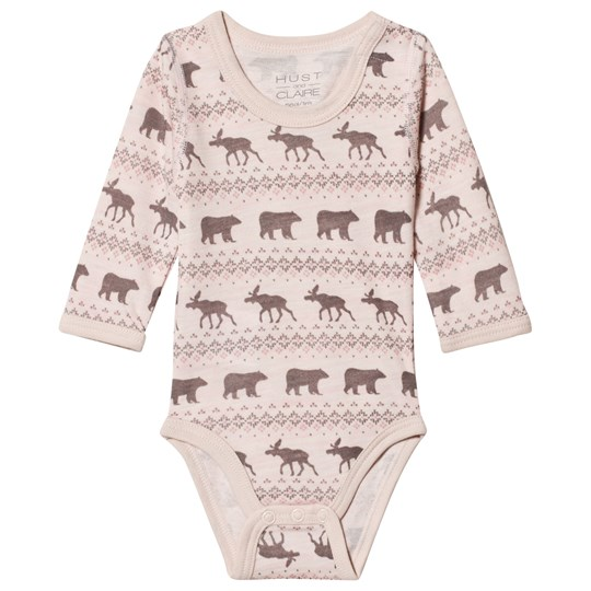 Hust&Claire Pink Baloo Baby Body Rosie