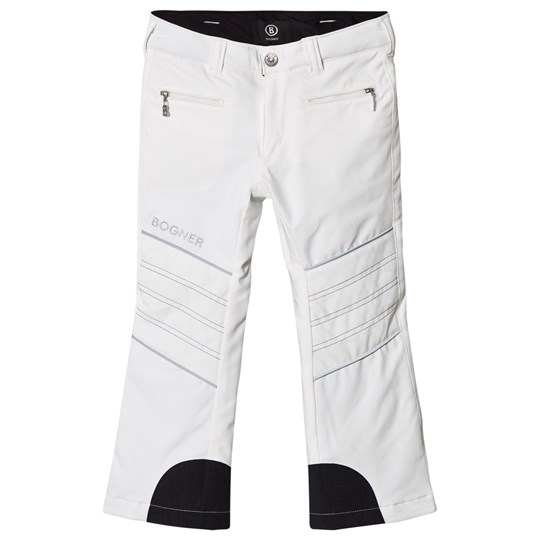 Bogner White Bekki3 Stretch Ski Pants 739