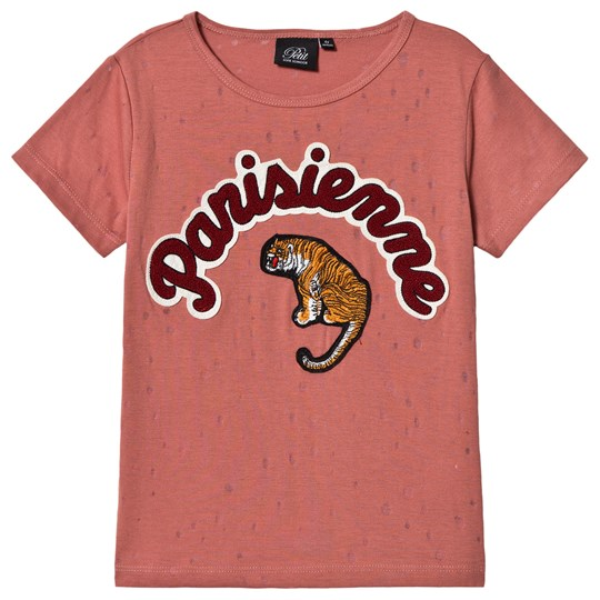 Petit by Sofie Schnoor Tiger T-shirt Dusty Rose Dusty Rose
