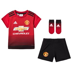 Image of Manchester United Manchester United ´18 Infants Home Kit 12-18 months (86 cm) (3065522755)