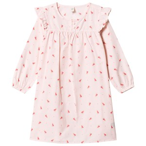 Image of GAP Pink Floral Print Ruffle Nightgown 29 (US 12) (3065577101)