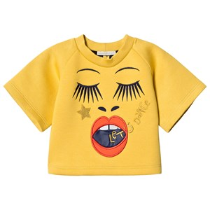 Image of Raspberry Plum Yellow Face Valentina Tee 9-10 years (3065524161)