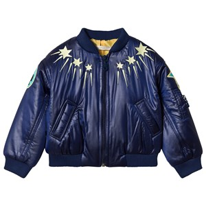 Image of Raspberry Plum Navy Boogie Jacket with Sunny Embroidery 5-6 years (3065524299)