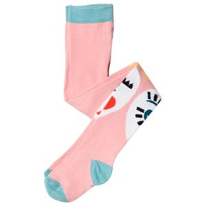 Image of Raspberry Plum Pink Roxana Heart Face Tights 11-12 years (3065524371)