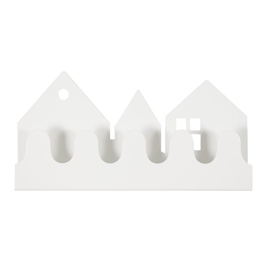 Roommate Village Coat Rack White White