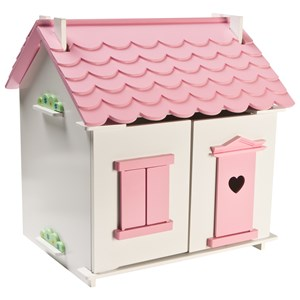 Image of STOY Dolls Dollhouse Small Village Pink (3066370011)