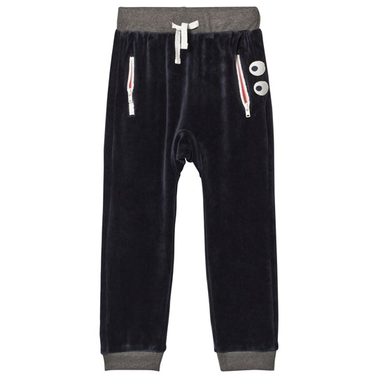Hust&Claire Godtfred Sweatpants Navy Navy