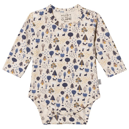 Hust&Claire Bebe Baby Body Blue Blue Bell