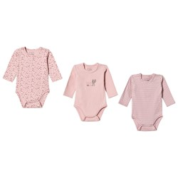 Hust&Claire 3-Pack Base Baby Body Pink