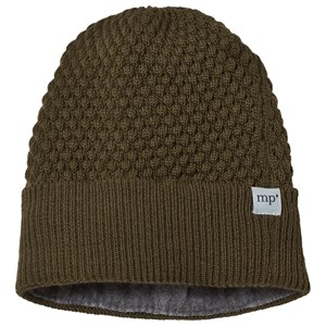 Image of MP Chunky Oslo Beanie with Button Dark Army 47/49 cm (3066371929)
