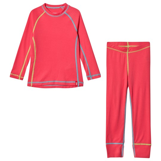 Reima Cepheus Base Layer Set Strawberry Red Strawberry red