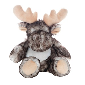 Image of Molli Toys Brown and Grey Moose 3 - 12 år (3066370051)