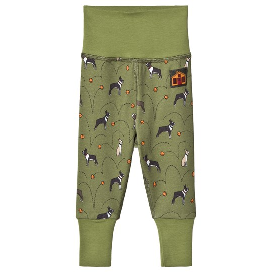 Modéerska Huset Baby Leggings I Heart My Boston Terrier I Heart My Boston Terrier