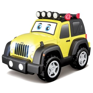 Image of Play Jeep Wrangler with Light & Sounds 12 mdr. - 3 år (3066370073)