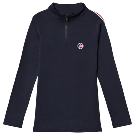 Fusalp Navy Half Zip Mid Layer 629