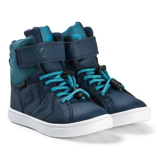 9cdfdcbdef4 Hummel - Splash Poly Jr Shoes Blue Wing Teal - Babyshop.com