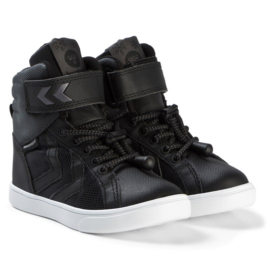 Hummel Splash Poly Jr Boots Black Black