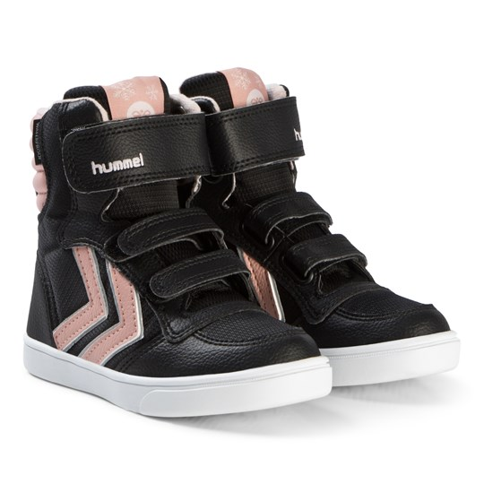 Hummel Stadil Super Poly Boots Jr Black/Mellow Rose Black/Mellow Rose
