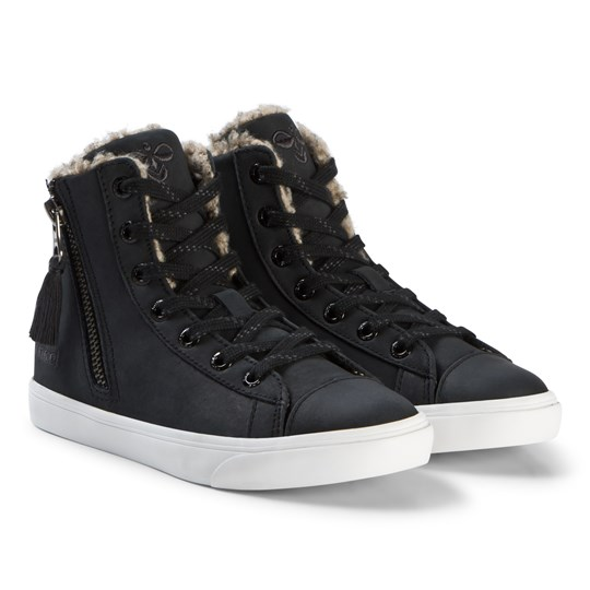 Hummel Strada Winter Jr Black Black