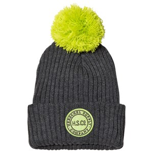 Image of Herschel Heather Charcoal and Evening Primrose Sepp Youth Beanie (5-14 years) (3125289761)