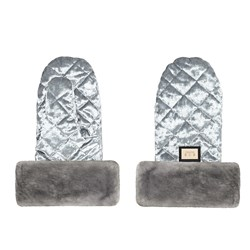 Bjällra of Sweden Handmuff Grey Velvet