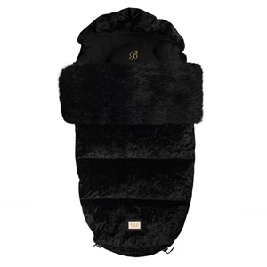 Image of Bjällra of Sweden Footmuff Black Velvet One Size (1091226)